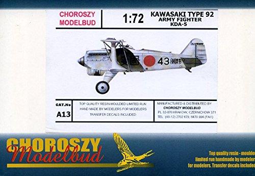 コロジー A13 1/72 川崎 九二式戦闘機 [KDA-5]