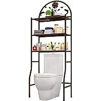 ランドリーラック トイレラック トイレ棚 トイレ収納 おしゃれ 収納棚 スペースラック 浴室用ラック 3段式 簡単設置…