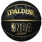 バスケットボール 屋内用/屋外用 ゴールド ハイライト ブラック/ゴールド