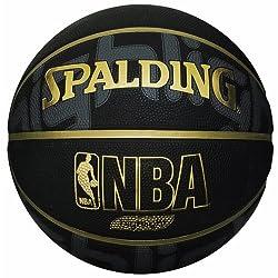 SPALDING(スポルディング) バスケットボール GOLD HIGHLIGHT(ゴールド ハイライト) 7号球 ブラック  ゴールド 73-229Z