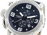 日用品 メンズ クオーツ クロノ メンズ 腕時計 C61-BK