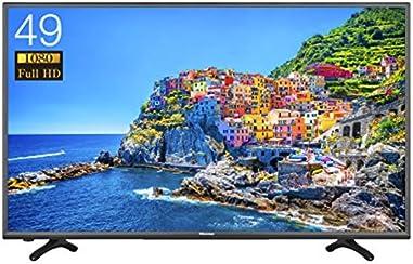 ハイセンス 49V型フルハイビジョン液晶テレビ 外付けHDD録画対応(裏番組録画) HJ49K3120