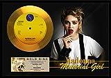 人気Madonna/マドンナ/マテリアル・ガール/ゴールドディスク 証明書付き [並行輸入品]