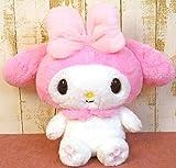 ナカジマコーポレーション(Nakajimacorp) ほわほわ マイメロディ M ピンク 30cm×37cm×17cm Sanrio My Melody ぬいぐるみ 143068-20