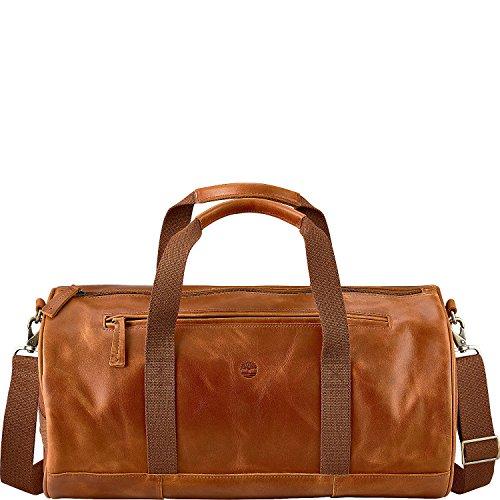ティンバーランド バッグ スーツケース Tuckerman Leather Duffel Cognac [並行輸入品]