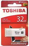 32GB TOSHIBA 東芝 USB3.0対応 USBメモリー TransMemory キャップ式 ホワイト 海外リテール THN-U301W0320A4