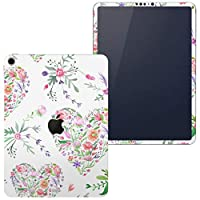 igsticker iPad Pro 12.9 inch インチ 専用 apple アップル アイパッド 2018 第3世代 A1876 A1895 A1983 A2014 全面スキンシール フル 背面 側面 正面 液晶 タブレットケース ステッカー タブレット 保護シール 人気 ハート 模様 花 011882