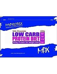 MPX ローカーボ プロテインダイエット?Low Carb Protein Diet?マイプロテクス ダイエットシェイク (ミルクチョコレート, 400g)