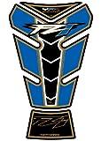 MOTOGRAFIX(モトグラフィックス) タンクパッド YAMAHA FZ1 06- ブルー/ブラック/ゴールド MT-TY019BA