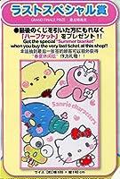サンリオキャラクターズ当りくじ ラストスペシャル賞 ハーフケット 約横100cm×:縦140cm