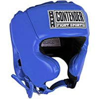 Contender Fight Sports CompetitionボクシングムエタイMMAスパーリングヘッド保護Headgear with Cheeks