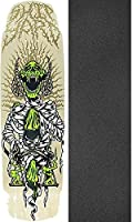 "Shipyard Skates Plaque Old Schoolスケートボードデッキ – 8.8 "" X 32.5 "" with Mob Grip Perforated Griptape – 2アイテムのバンドル"