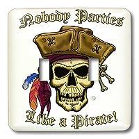 3drose LLC lsp 22841_ 2海賊スカルwith NobodyパーティLi Ke Aダブル切り替えスイッチ
