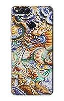 JP2584H7X 中国のドラゴンアート Traditional Chinese Dragon Art Huawei Honor 7X ケース