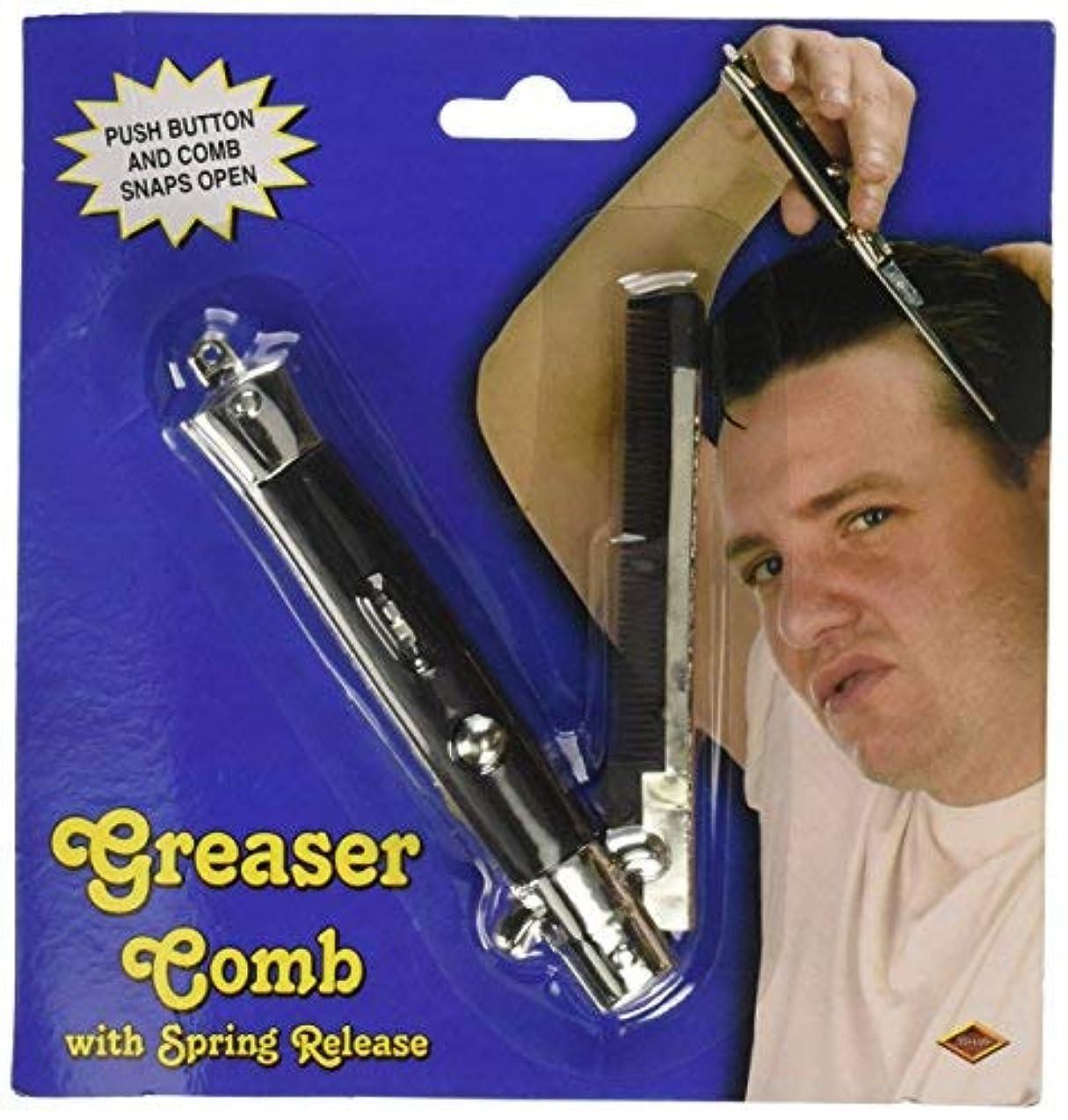釈義バッジ偽装するGreaser Comb Party Accessory (1 count) (1/Pkg) [並行輸入品]