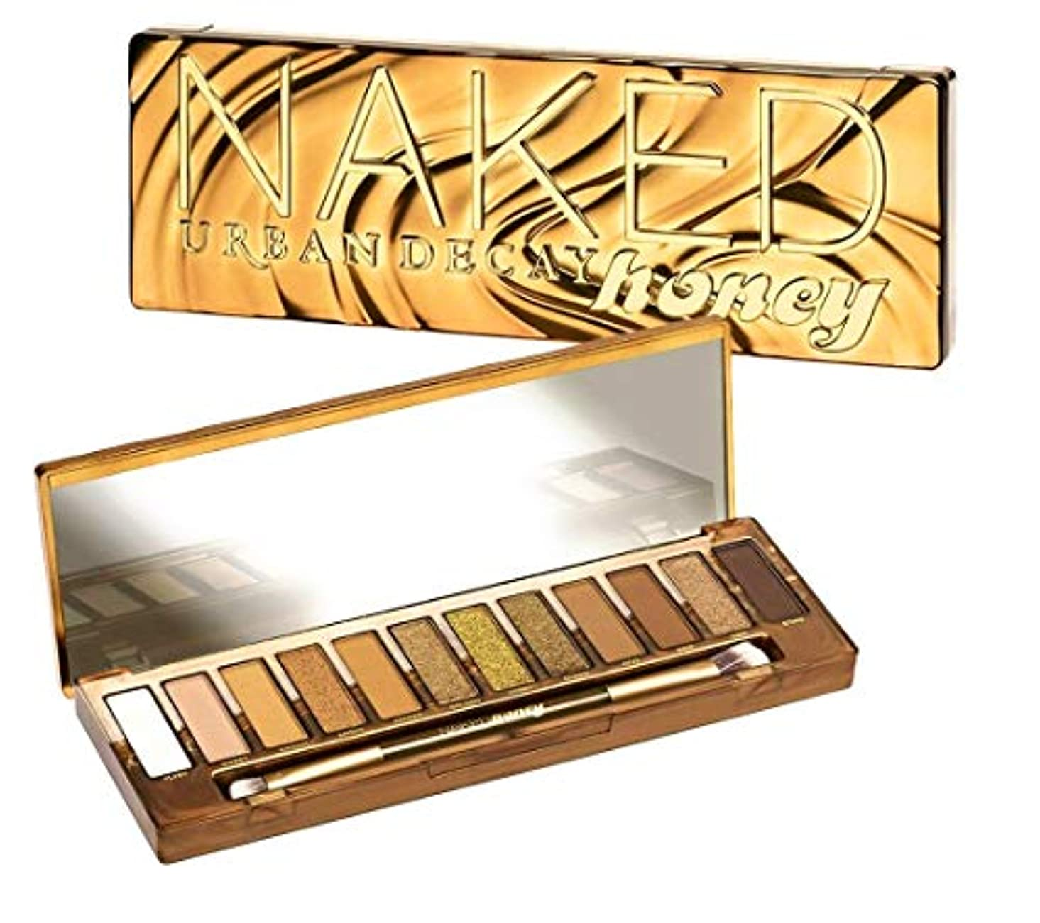 宣言馬鹿表面的なURBAN DECAY Naked Honey Palette