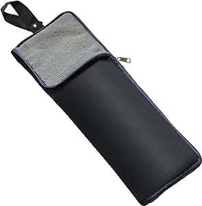 【Amazon.co.jp限定】 超 吸水 マイクロファイバー 折りたたみ傘 用 傘カバー ロング 35 cm