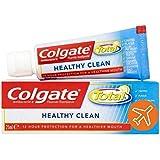 [Colgate ] コルゲートトータル健康クリーントラベルサイズの歯磨き粉25ミリリットル - Colgate Total Healthy Clean Travel Size Toothpaste 25ml [並行輸入品]