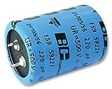 コンデンサ - アルミ電解 - CAP ALU ELEC 270UF 500V SNAP-IN