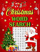 Christmas word search.: Easy Large Print Puzzle Book for Adults , Kids & Everyone for the 25 Days of Christmas.