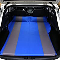 SUVエアベッド、GZD車自動膨張式マットレスSUV、MPV、車、トラック用の拡張クッションスリープソファ。ホーム、車、屋外キャンプユニバーサル、132 * 180センチメートル,Blue
