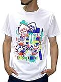 (スプラトゥーン) Splatoon Tシャツ メンズ ブランド 半袖 ロゴ キャラクター プリント 8color LL 柄3