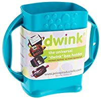 Dwink Universal Juice Pouch Milk Box Holder (Teal) by Price Products
