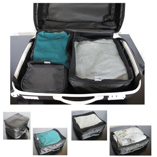 アレンジケース 4点セット 整理整頓袋 旅行用品 スーツケース旅行カバン用