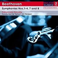 Beethoven: Symphonies No.S 1-4, 7, 8 [3CD Box Set] by Beethoven