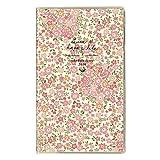 クツワ カラーインデックス 手帳 2020年 スリム 薄型 マンスリー 小花・ピンク SH975C 2019年 11月始まり