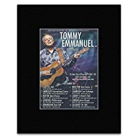 TOMMY EMMANUEL - UK Tour 2011 Matted Mini Poster - 14x10cm