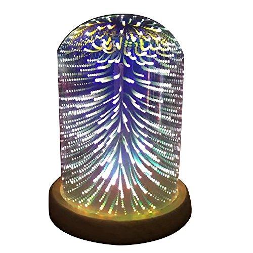 Hosam LEDライト 3Dライト ガラスカバー デスクラ...