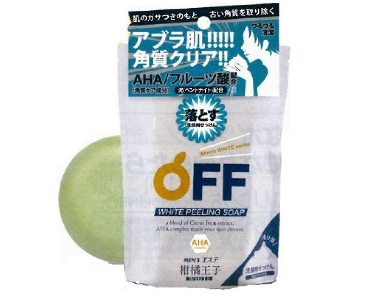 酸素観察する手錠柑橘王子 Wピーリングソープ