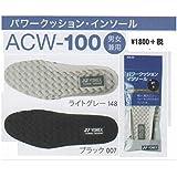 yonex - パワークッション インソール ACW100 007 ブラック 25-26.5