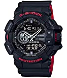 [カシオ]CASIO 腕時計 G-SHOCK Black & Red Series GA-400HR-1AJF メンズ