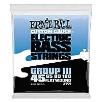 【正規品】 ERNIE BALL ベース弦 フラットワウンド グループ3 (45-100) 2806 FLAT WOUND GROUP3