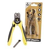サンダーパウズ 犬用爪切り トリマー 中型犬/大型犬用 保護ガード 安全ロック 爪やすり付き