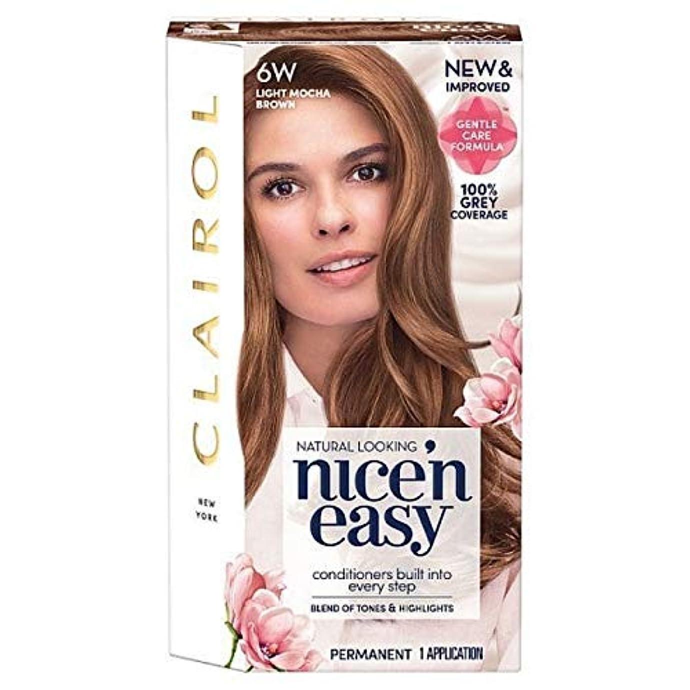 ノート誕生大学[Nice'n Easy] Nice'N簡単に6ワットライトモカブラウン - Nice'n Easy 6W Light Mocha Brown [並行輸入品]