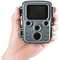 サンワダイレクト トレイルカメラ 防犯カメラ 小型 乾電池式 防水防塵IP56 写真 動画 自動撮影 70°検知 400-CAM066