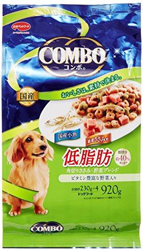 コンボ コンボ ドッグ 低脂肪 角切りささみ・野菜ブレンド 920g