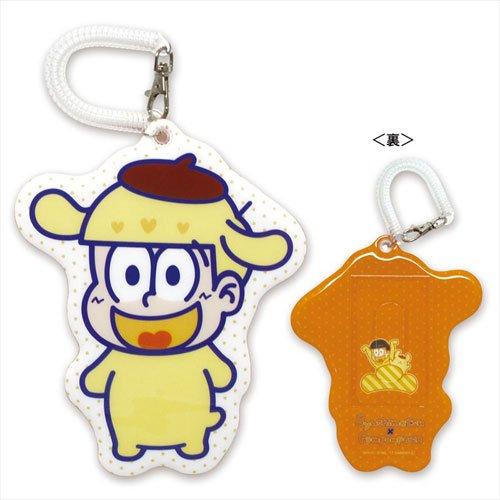 おそ松さん×サンリオキャラクターズ 十四松×ポムポムプリン パスケースの詳細を見る