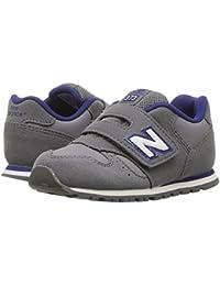 (ニューバランス) New Balance キッズランニングシューズ??スニーカー?靴 KV373v1 (Infant/Toddler) Grey/Navy 4 Toddler (12cm) W