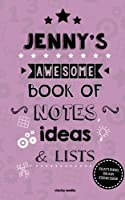 Jenny's Awesome Book of Notes, Lists & Ideas: Featuring Brain Exercises!