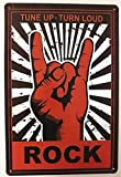 Charming Crew 復古調 ブリキ看板 アメリカン ガレージ ロック Tune Up チューンナップ 復刻版 アンティーク風 雑貨 おしゃれ インテリア My Garage My Rules