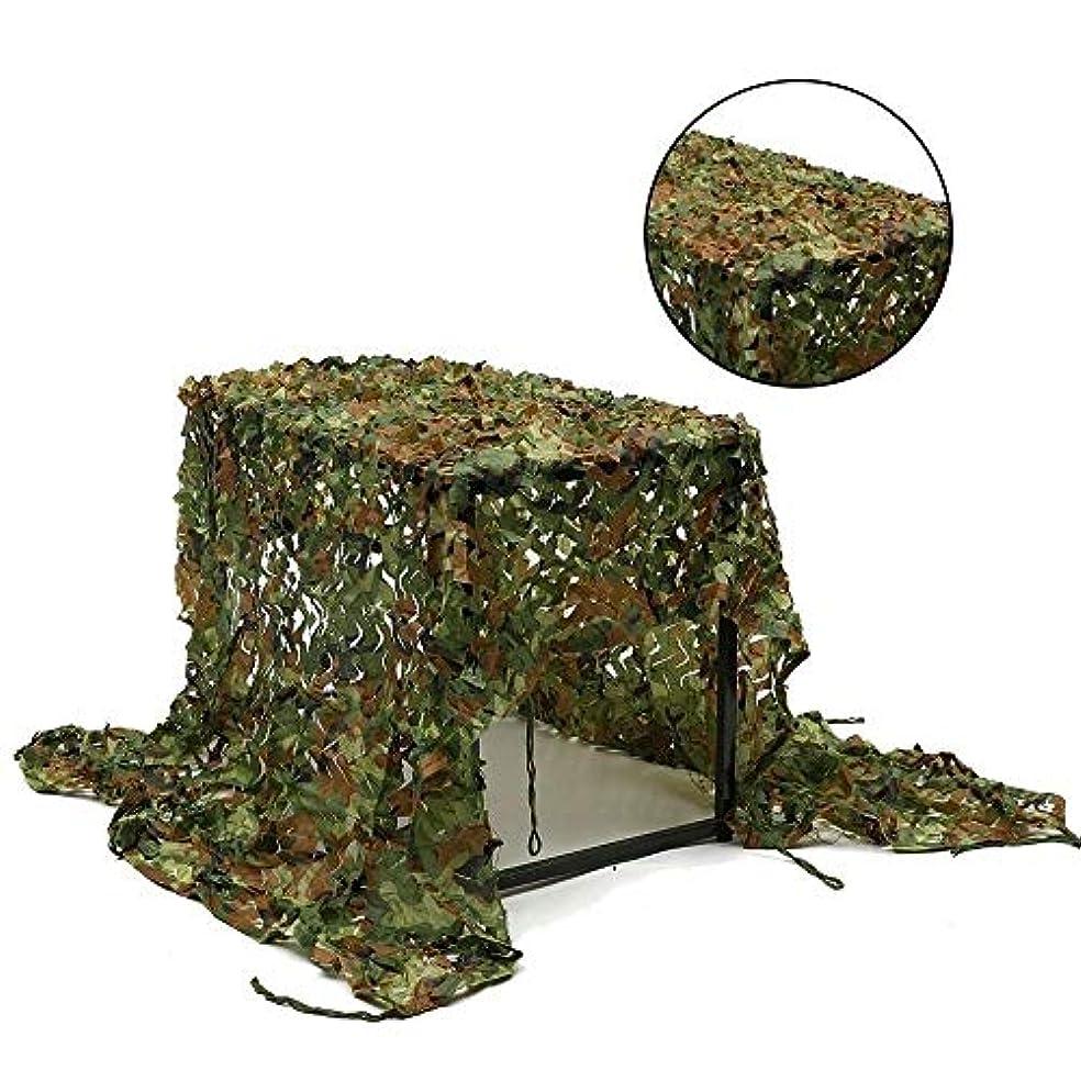 政治家肝不規則性テラスサンシェード 迷彩狩猟射撃ネット隠す軍隊オックスフォード生地迷彩ネット (サイズ さいず : 3*4M(9.8*13.1ft))