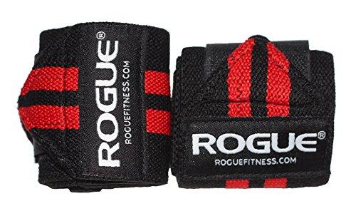 (ローグ) Rogueフィットネス クロスフィットリストラップ フィットネス用 赤/黒...