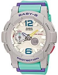 [カシオ]CASIO 腕時計 BABY-G ベビージー Gライド タイドグラフ搭載 BGA-180-3BJF レディース