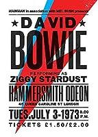 David Bowie in Concert onマウスパッドマウスパッドコンピュータデスクトップ供給クラシックヴィンテージ古い音楽