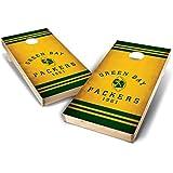 PROLINE NFL 2'x4' Green Bay Packers Cornhole Set - Nostalgia