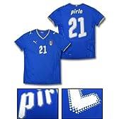 【#21 pirlo(ピルロ)】PUMA 2008 イタリア代表 ホーム『オーセンティック』ユニフォームimp Size S